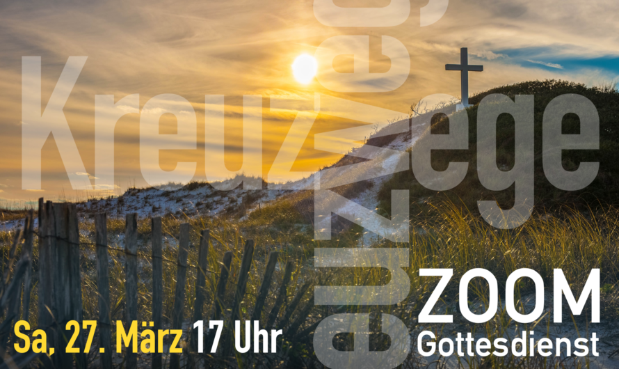 Zoom-Gottesdients am 27.3.