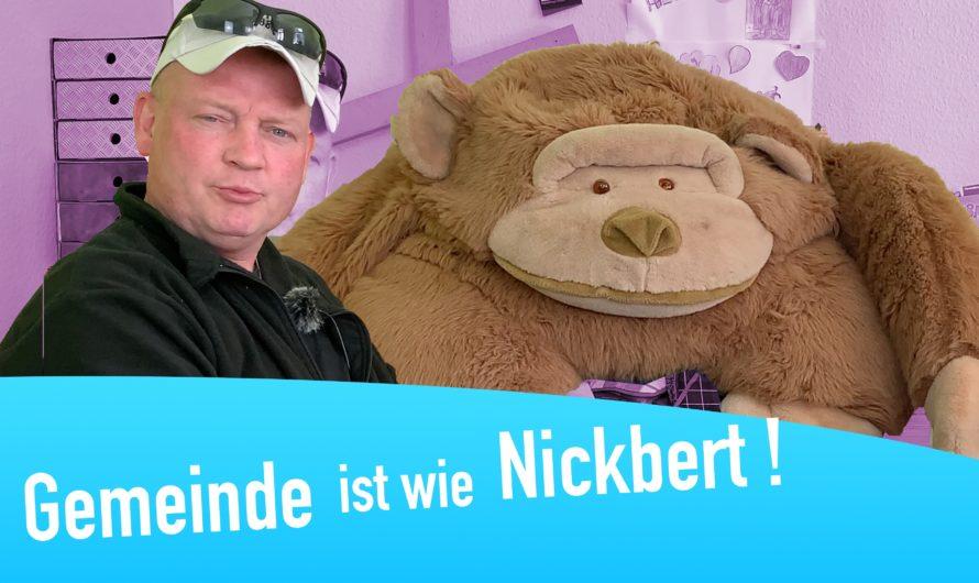 """Christenlehrevideo """"Gemeinde ist wie… Nickbert!"""""""